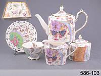 Чайный набор Lefard Эйфория на 15 предметов 586-103