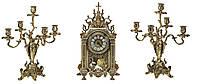 Часы настольные с канделябрами Stilars 42 см