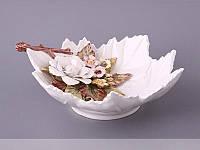 Конфетница Ceramiche di Nicolina Della Valle Розы 29 см 668-004