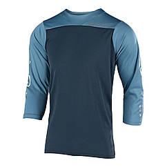 Джерси TLD Ruckus Jersey BLOCK [Charcoal/Stone Blue] размер XL