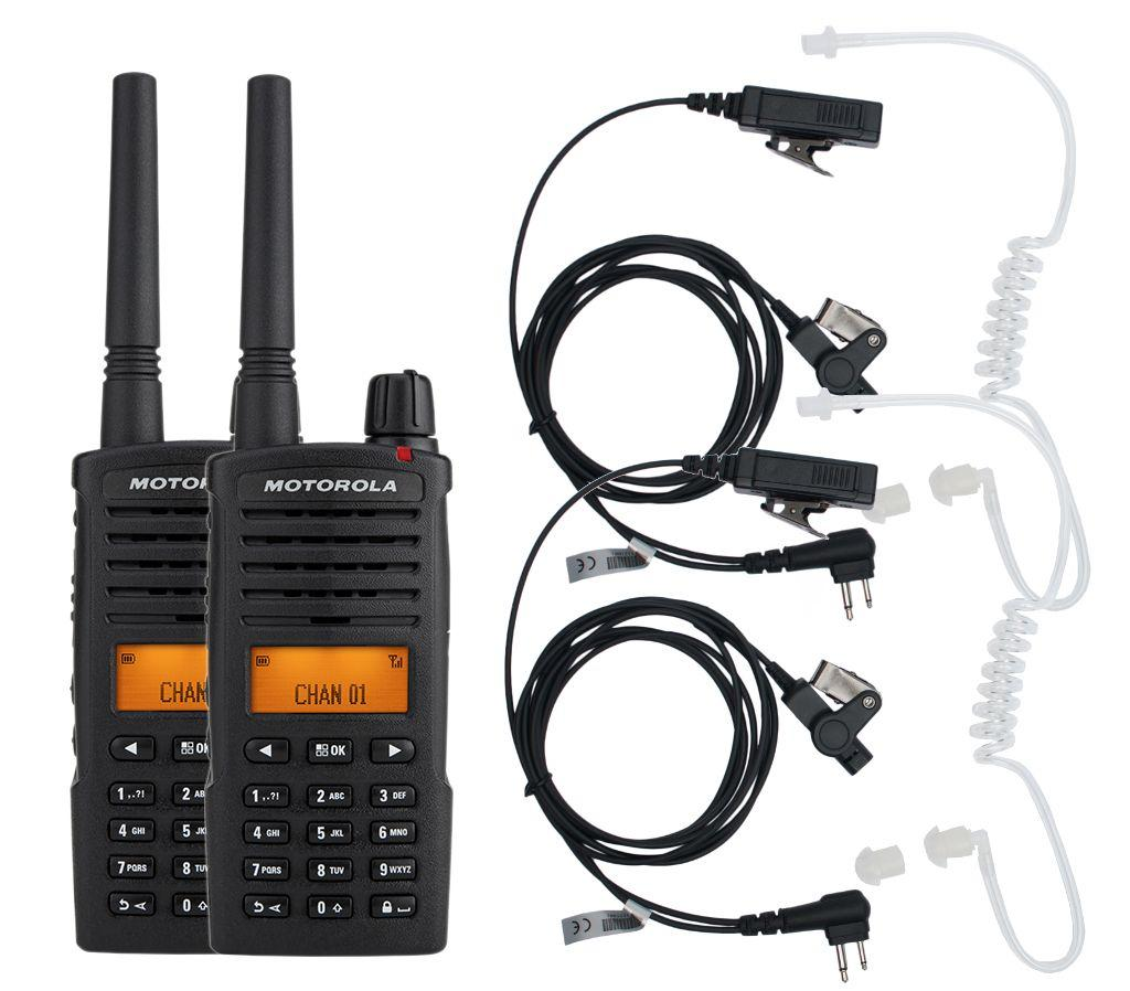 Комплект цифрових рацій для охорони всепогодний Motorola XT665D Security Weatherproof
