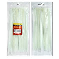 Хомут пластиковый 2.5x100мм, (100 шт/упак), белый