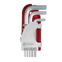 Набор Г-образных шестигранных ключей Intertool HT-1803
