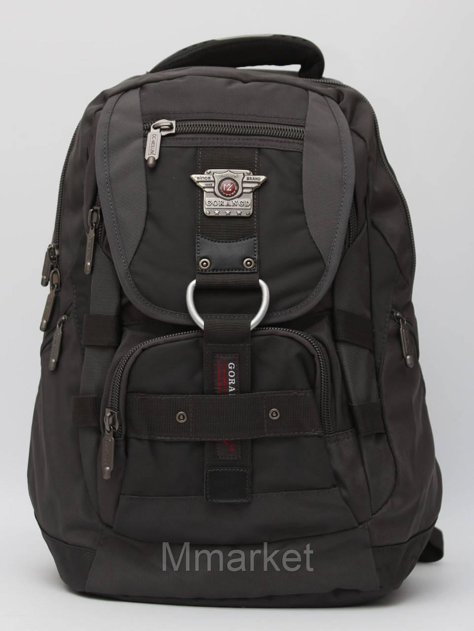 Мужской городской рюкзак Gorangd на каждый день с отделом под ноутбук