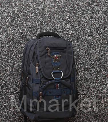 Мужской повседневный городской рюкзак с отделом для ноутбука Gorangd, фото 2