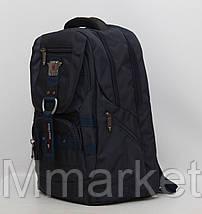 Мужской повседневный городской рюкзак с отделом для ноутбука Gorangd, фото 3