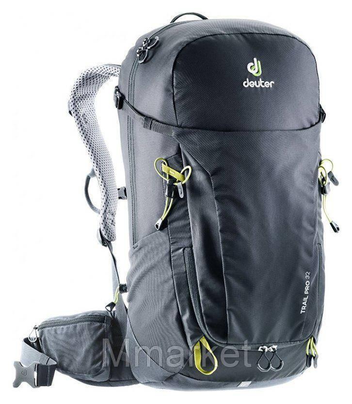 Рюкзак Deuter Trail Pro 32 (Чёрно-графитовый black-graphite)