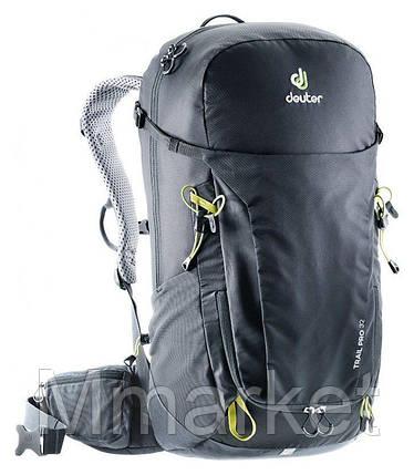 Рюкзак Deuter Trail Pro 32 (Чёрно-графитовый black-graphite), фото 2