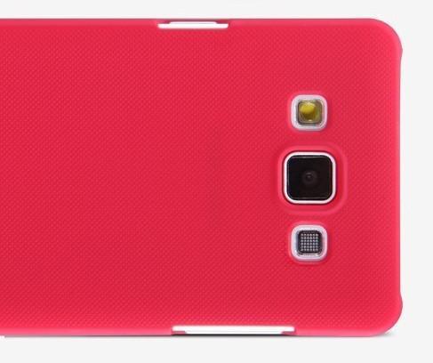 Чехол для Samsung Galaxy A3 Nillkin Frosted Shield (пленка в комплекте)