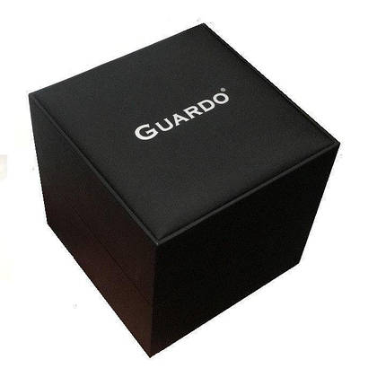 Часы мужские Guardo 011097-1 серебряные, фото 2