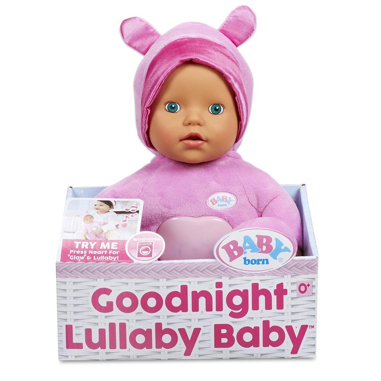 Беби Борн Музыкальная кукла  Колыбельная зеленые глаза  BABY Born