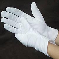 """Перчатки для официантов, ревизор, выступлений, размер """" S"""" Польша, женская рука"""