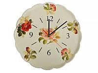 Часы настенные кухонные Nuova Cer 30 см612-029