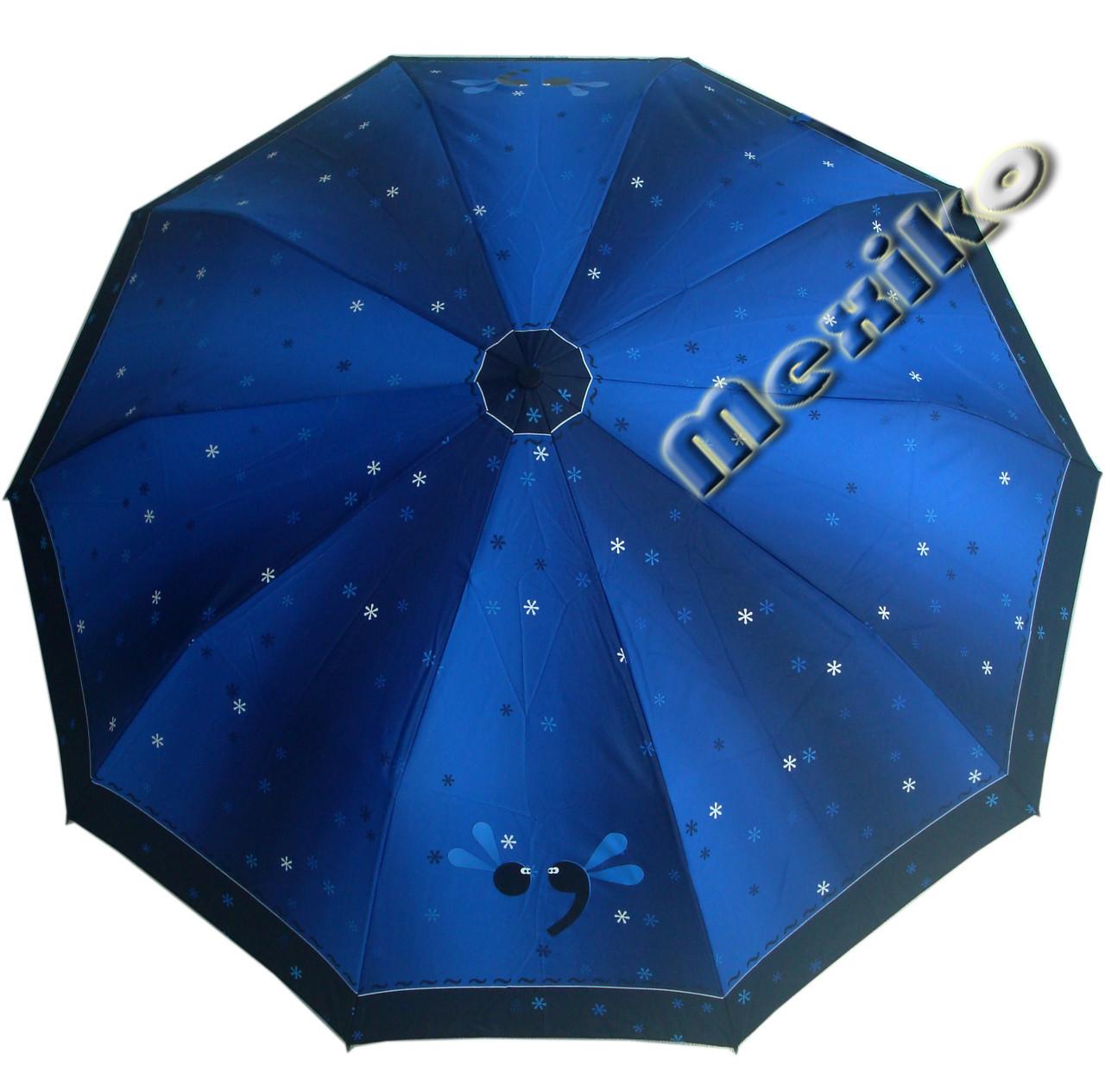 Зонт ZEST, полуавтомат серия 10 спиц, расцветка Точка с запятой