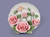 Декоративная тарелка Розы 20х13х19 см 465-223