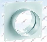 Соединитель вентиляционный настенный для круглых воздуховодов ПЛАСТИВЕНТ, фото 2