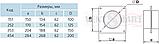 Соединитель вентиляционный настенный для круглых воздуховодов ПЛАСТИВЕНТ, фото 3