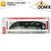 Качественный черный нож Керамбит 830 для самообороны или туризма