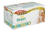 Подгузники Pampers Premium Care DRY MAX new Maxi 4 (7-14кг.) MEGA PACK 104шт.
