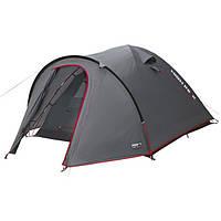Палатка High Peak Nevada 4 (Dark Grey/Red)