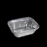 Контейнер из пищевой алюминиевой фольги 255мл (SP15L) 100шт / уп (115 * 88 * 33мм.)