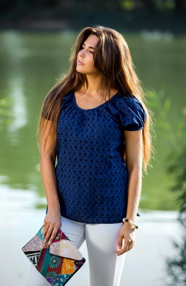 Красивая блуза Индия  1006-А