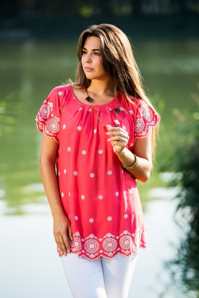 Красивая блуза Индия  2246