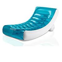 Пляжний надувний шезлонг - крісло Intex 58856