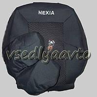 Авточехлы DAEWOO Nexia c подголовниками (Деу Нексия)