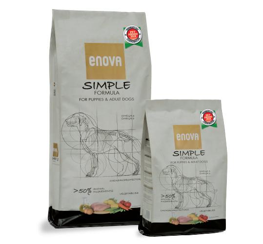 ENOVA SIMPLE (мясо курицы) беззерновой корм для собак