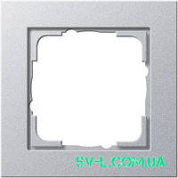 Рамка 1 пост Gira 021125 алюминий.