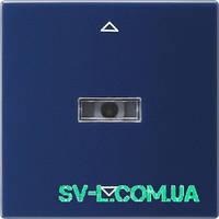 Сенсорный выключатель Gira 082046 синий.