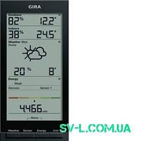 Радиометеостанция Gira 236028 антрацит.