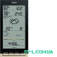 Радиометеостанция Gira 236001 кремовый.
