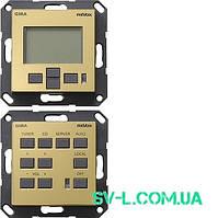 Панель контроля M217/M218 Gira 0540604 латунь