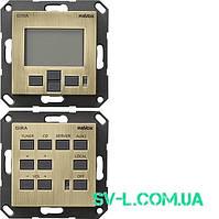 Панель контроля M217/M218 Gira 0540603 бронза