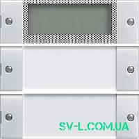 Комплект клавиш Plus, 2 шт. Gira 214203 прозрачный белый