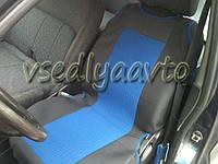 Майки черно-синие на сидение авто (2 шт.)