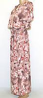 Платье летнее длинное(46-52)