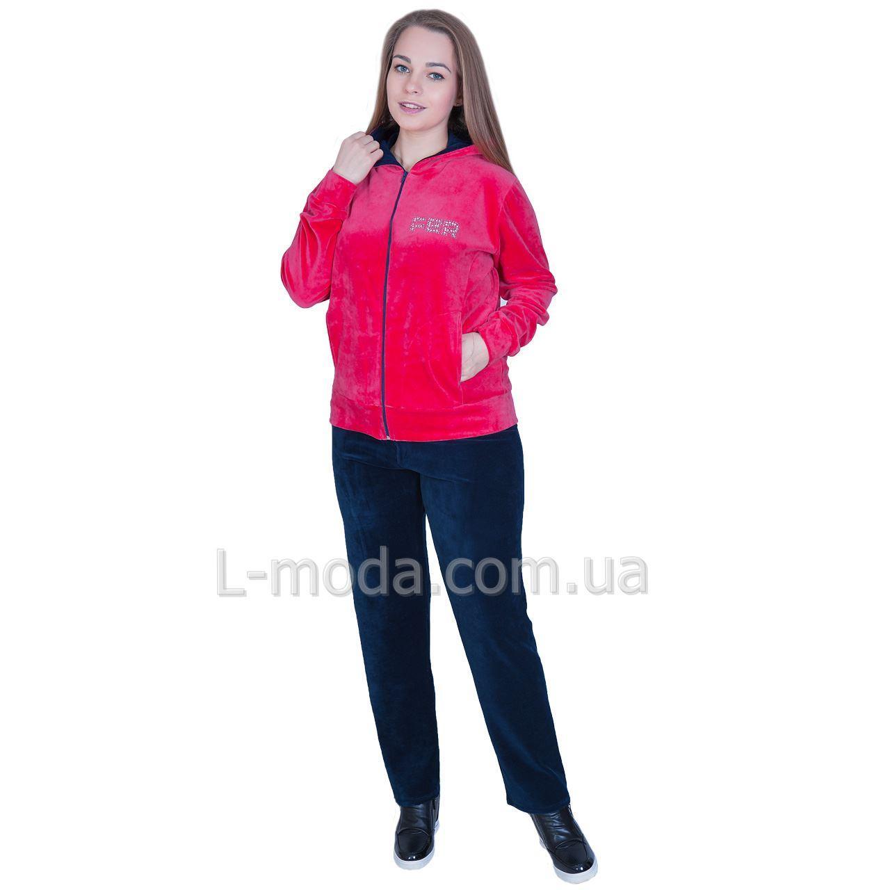 Спортивный костюм женский велюровый opt-52475