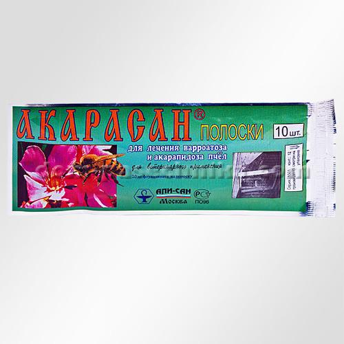 "Акарасан ""Апи - Сан"" Россия, 1 уп - 10 полосок"