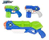 Супер Набор три водных бластера Тайфун Гром и 2  стелса  Zuru X Shot Blaster