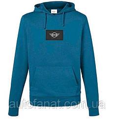 Оригинальная мужская толстовка с капюшоном MINI Logo Patch Sweatshirt Men's, Island (80142460812)