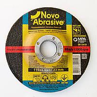 Обдирочный (зачистной) диск круг для болгарки по металлу 115х6х22,23 т27 Novoabrasive