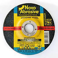 Обдирочный (зачистной) диск круг для болгарки по металлу 125х6х22,23 т27 Novoabrasive