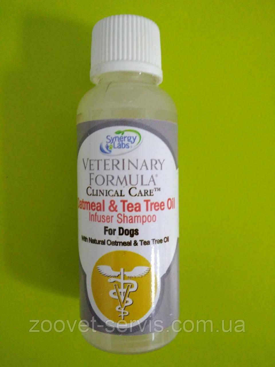 Увлажняющий шампуньдля собак с овсяной мукой и маслом чайного дереваVeterinary Formula Clinical Care Oatmeal