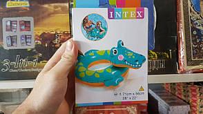 Надувной круг Intex 58221 Крокодил, фото 2