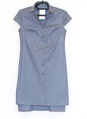 Молодежная рубашка платье  (42-48), фото 3