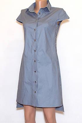Молодежная рубашка платье  (42-48), фото 2
