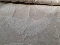 Льняная двухсторонняя декоративная ткань (шир. 290 см)